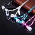 創意拉鍊式造型耳機-入耳式-2入1組(安卓通用)