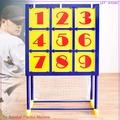 挑戰冠軍王!!九宮格投球練習機P116-012(9宮格棒球練習器材.棒壘球投手投擲練習機.球類運動用品.哪裡買推薦)