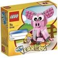 WeMall玩具館 現貨 樂高 生肖豬 豬年 LEGO 40186 亞洲限定版 百貨公司貨