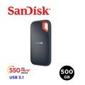 [免運] SanDisk E60 500GB 行動固態硬碟