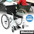【Free Shipping + Flash Deal】Super Lightweight Transport Chair WheelChair Health Foldable Folding Wheelchair