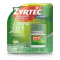 Zyrtec Zyrtec 24 HR Indoor & Outdoor Allergy Liquid Gels Capsules, Cetirizine HCI Antihistamine, 12