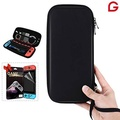 Nintendo Switch Case GLTECK Hard Shell Best Travel Carrying Case for Nintendo Switch Console & Accessories with Screen Protector for Nintendo Switch - intl