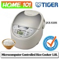 Tiger Microcomputer Controlled Rice Cooker 1.8L JAX-S18S