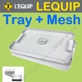 Lequip Korea Tray and Mesh for Food Dehydrator 918 109 528 All Series