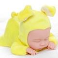 洋娃娃模擬嬰兒洋娃娃軟膠睡眠寶寶安撫陪睡萌娃娃女孩兒童毛絨公仔玩具【百蒂衣櫃】