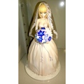 現貨 代理版已拆 Aniplex+限定 10周年紀念 FATE 賽巴 SABER 婚紗版 PVC 1/7 fgo