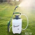 澆花噴壺5L手動氣壓式農用噴霧器高壓噴壺園藝農藥灑水噴水壺洗車QM『櫻花小屋』