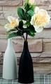 陶瓷亞光小花瓶花器花插白色
