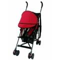 林利經典款推車新生兒可平躺嬰兒傘車輕便好收好推出國必備-紅色嬰兒車娃娃車