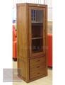 【尚品傢俱】826-07 復刻 柚木全實木6尺電視高低櫃-高櫃/開門三抽展示櫃/收納櫃