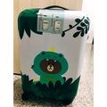 恐龍熊大 全新LINE FRIENDS 20吋 亮面熊大行李箱 登機箱 旅行箱 拉桿箱 PC+ABS TSA美國海關鎖