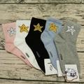 🆕韓襪系列(全新)韓國襪子 正韓貨 短襪 百搭*金蔥閃亮星星