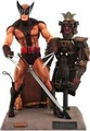 Marvel Select Brown Uniform Wolverine Action Figure