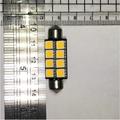 LED 暖白色 8晶 車用燈泡