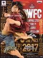 台灣代理版 BWFC 世界大賽 造形王頂上決戰 特別版 SPECIAL 草帽魯夫 BANPRESTO WORLD FIGURE COLOSSEUM 海賊王 公仔