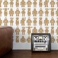 Aimee Wilder / KIKI Collection Big Robots sphinx 壁紙 (訂貨單位66.04cm×9m/卷)