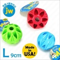美國JW《藏食球L》抗憂鬱塞食益智玩具,耐咬有彈力,可丟撿互動