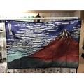 富士山掛旗/旗幟/門簾90*60橫