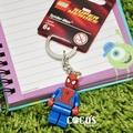 [正版]LEGO 樂高鑰匙圈 蜘蛛人 人偶鑰匙圈 鎖圈 吊飾 COCOS FG280