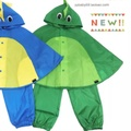 日本兒童雨衣斗篷雨褲