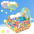 1.2m Foldable Baby Playpens Children Tent Kids Balls Pool Toddler Safety Playing