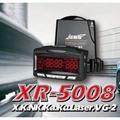 【車王小舖】最新款征服者GPS XR-5008紅色背光模組雷達測速器