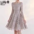 蕾絲設計師款洋裝