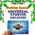Universal Studio Singapore USS admission ticket e tickets one day pass Open date 环球影城门票