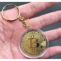 鑰匙圈 鑰匙圈吊飾 紀念幣 比特幣 Bitcoin BTC