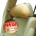 車資樂㊣汽車用品【3024】3D護頸系列-舒壓透氣大頭枕 車用舒適 頭頸枕 護頸枕-三色選擇
