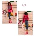 奇異果芭比屋~正版芭比娃娃時裝~上衣+長褲+外套+鞋子+包包~5件組