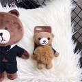 Oppo r11s/R11 cartoon stereo Bear phone case
