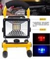 移動照明燈30w(大廣角) 手提投射燈 應急充電式LED投射燈 手提探照燈 手提燈工作燈非L2 T6