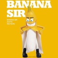 Banana.Sir香蕉先生濃縮洗髮水清爽洗髮露邪惡香蕉300ml【Miss.Sugar】【J000017】