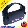 RED STONE for EPSON S015016/LQ680最新雙排打印色帶(黑色/1組6入)