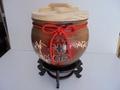 50斤 米甕 米缸 米桶 米箱 老茶 普洱茶 聚寶 甕 開幕 頂級 窯變 柴燒