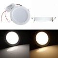9W Round LED Recessed Ceiling Panel Down Light With Driver