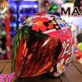 *世帽館安全帽* 新款!! ONZA MAX-R2 2代 限量彩繪 HONEY 3/4罩 半罩 全罩+免運+送七彩電鍍片