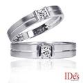 IDes design 堅定系列鑽石對戒-預購