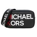 MICHAEL KORS 防刮牛皮雙層相機斜背包(小/黑)