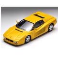 預購 9月日本正版 TOMICA TOMYTEC TLV 法拉利 Ferrari 512 黃色 1/64 合金 小車