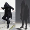 中長款連帽暗黑者同款巫師帽刺客教條外套男裝暗黑系披風