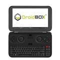"GPD WIN by DroidBOX + CASE + USB Hub June 5 Update Aluminum Top Cover Version X7-Z8750 Windows 10 Powered Gaming Portable Console 5.5"" OGS LCD Display, Up to 2.56GHz CPU, 4GB RAM, 64GB ROM"