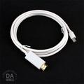 《3C任選三件9折》1.8M  1.8米 mini DisplayPortmini DP 轉 HDMI 轉接線 傳輸線 (12-571)