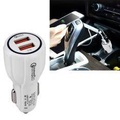 DC 12-24V Quick Charger 3.0 Car Charger with 3.1A Car Dual USB Chargers