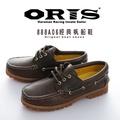 ORIS 經典帆船鞋 深咖色 888A06