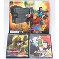 PS2【火線危機 2】光線槍同捆版(日版-全新)+ 忍者突擊隊(二手)亞版+火線危機3(全新亞版) 射擊