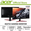 "Acer KG271C 27"" (16:9) Full HD Monitor with 1ms response time and 144Hz refresh rate (FreeSync)"
