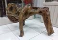 犀牛頭自然形    七里香根雕奇木擺件 可當座椅  重約25kg